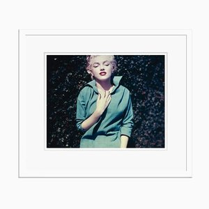 Marilyn Monroe In Green Poster von Nahum Sterling Baron