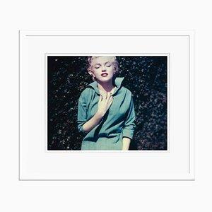 Marilyn Monroe In Green Poster von Nahum Sterling Baron