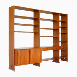 Danish Teak Shelving Unit by Hans J. Wegner for Ry Møbler, 1960s