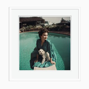 Jean Simmons Print by Baron