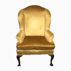 Antique George II Style Wing Armchair from Frank Giles & Co, 1900s