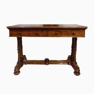 Tavolo vittoriano in mogano, metà XIX secolo