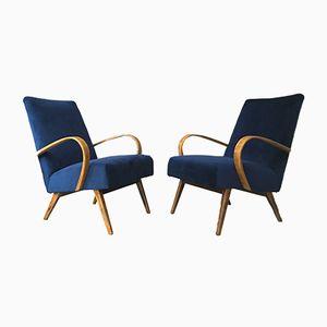 Sessel im Art Deco Stil von TON, 1960er, 2er Set