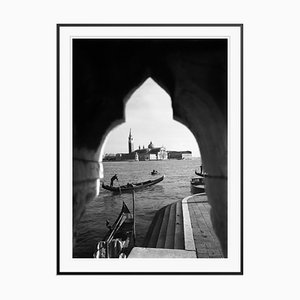 Gondolas in Venice Print from Galerie Prints