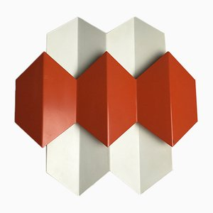 Danish Sconce by Bent Karlby for Lyfa, 1960s