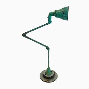 Lampada da tavolo industriale in metallo di Murano, anni '40