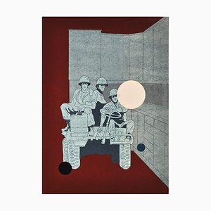 Serigrafia di Lars Grenaae, Danimarca, 1998
