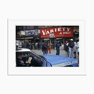 Imprimé Police Patrol par Alain Le Garsmeur