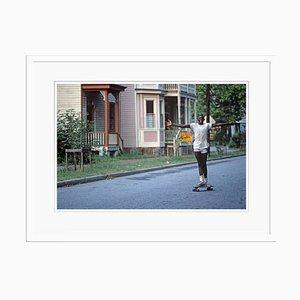 Savannah Skateboard Print by Alain Le Garsmeur