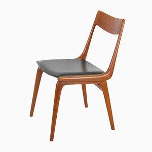 Sedia da pranzo di Alfred Christensen per Slagelse Møbelværk, Danimarca, anni '60