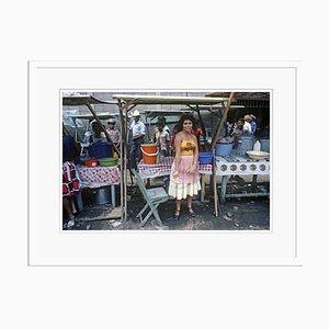 Póster Street Stall de Alain Le Garsmeur