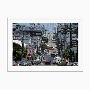 Póster Streets of San Francisco de Alain Le Garsmeur