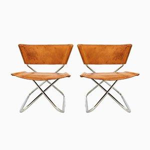 Dänische Vintage Z-Down Sessel von Erik Magnussen für Torben Ørskov, 1960er, 2er Set