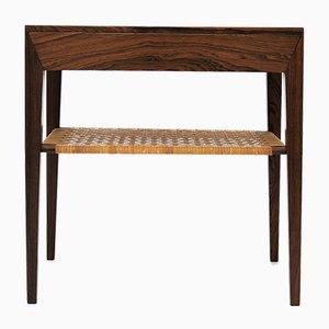 Tavolino in palissandro di Severin Hansen per Haslev Møbelsnedkeri, Danimarca, anni '50