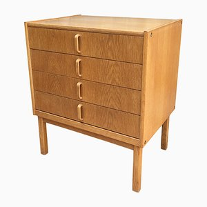 Mid-Century Swedish Oak Dresser by Bertil Fridhagen for Bodafors, 1963