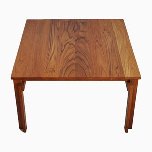 Danish Teak Coffee Table by Inger Klingenberg for France & Søn, 1960s