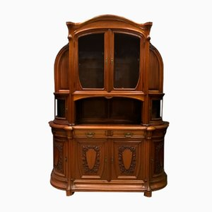 Art Nouveau French Mahogany Cabinet