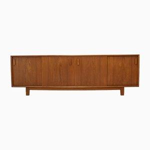 Dänisches Mid-Century Sideboard aus Teak und Furnier, 1960er
