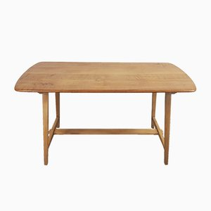 CC 41 Beech &Elm Dining Table by Lucian Ercolani for Ercol, 1940s