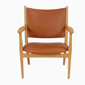 Model JH-713 Danish Lounge Chair by Hans J. Wegner for Johannes Hansen, 1960s