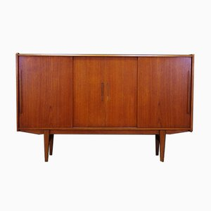 Mid-Century Danish Model 77 Teak Credenza from ES Møbler, 1960s