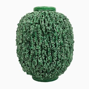 Mid-Century Chamotte Vase by Gunnar Nylund for Rörstrand