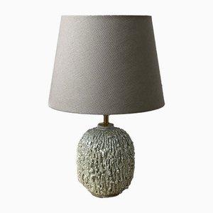 Lampe de Bureau Chamotte Vert Menthe par Gunnar Nylund pour Rörstrand, 1940s
