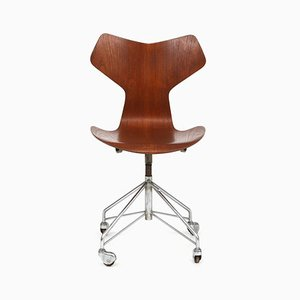 Grand Prix Swivel Chair by Arne Jacobsen for Fritz Hansen, 1965