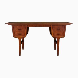 Mid-Century Danish Teak and Veneer Desk, 1960s