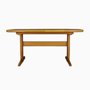 Mid-Century Danish Ash Dining Table from Skovby, 1960s