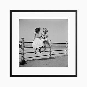 Stampa Blackpool Railings di Bert Hardy