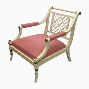 Baroque Style French Lounge Chair from Maison Jansen, 1970s