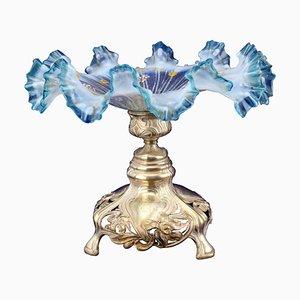 Milieu de Table Art Nouveau en Argent, 1900s