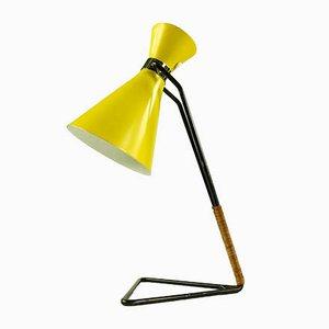 Lampe de Bureau D2007 Diabolo en Aluminium, Laiton et Acier par Svend Aage Holm Sørensen pour Raak, 1950s