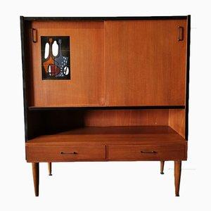 Mueble danés Mid-Century, años 60