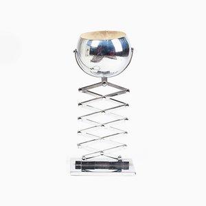 Lámpara de mesa acordeón de Ingo Maurer para Design M, años 70