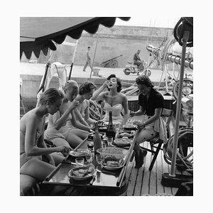 Póster Lunch Time Models de Bert Hardy