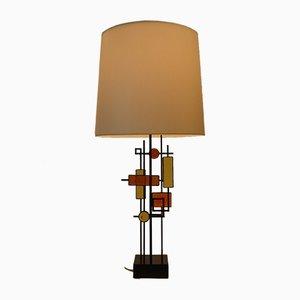 Lámpara de mesa danesa de Svend Aage Holm Sørensen para Holm Sørensen & Co, años 60
