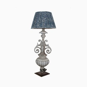 Lampadaire Antique en Zinc