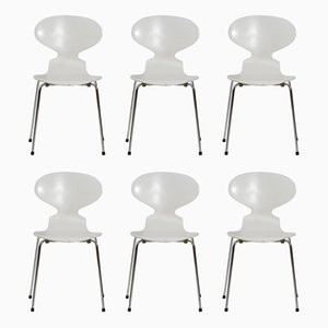 Vintage Ant Chairs by Arne Jacobsen for Fritz Hansen, 1970s, Set of 6