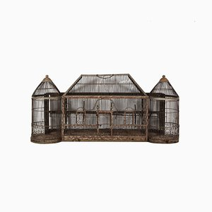 Antique Turreted Bird Cage, 1910s