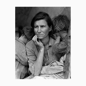 Póster Migrant Mother de Dorothea Lange