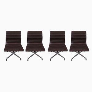 Sillones Group Alu de Charles & Ray Eames para Herman Miller, años 60. Juego de 4