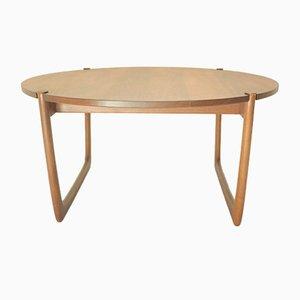 Tavolino da caffè in teak di Peter Hvidt & Orla Mølgaard-Nielsen per France & Søn, anni '50