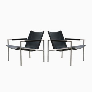 Model SZ01 Lounge Chairs by Martin Visser for 't Spectrum, 1960s, Set of 2