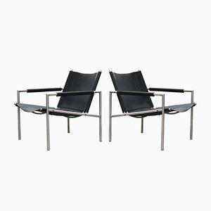 Modell SZ01 Sessel von Martin Visser für 't Spectrum, 1960er, 2er Set