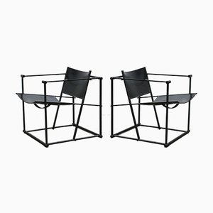 Model FM60 Lounge Chairs by Radboud Van Beekum for Pastoe, 1980s, Set of 2