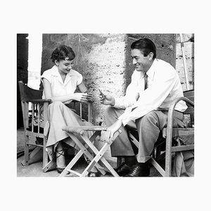 Audrey Hepburn und Gregory Peck Druck von Galerie Prints