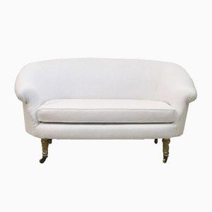 Canapé Antique en Lin
