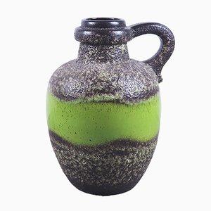 Große Vintage Fat Lava Keramikvase von Scheurich, 1970er